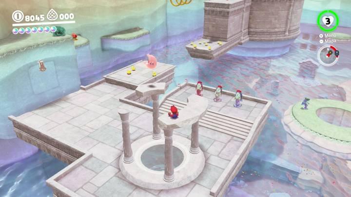 Energiluna 37 Reino del Lago Super Mario Odyssey
