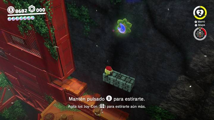 Energiluna 58 Reino Arbolado Super Mario Odyssey