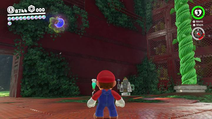 Energiluna 59 Reino Arbolado Super Mario Odyssey