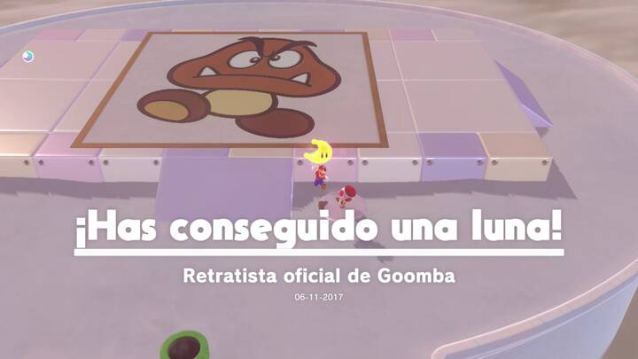 Energiluna 7 Reino Cúmulo Super Mario Odyssey