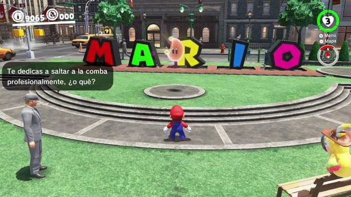 Energiluna 55 Reino Urbano Super Mario Odyssey