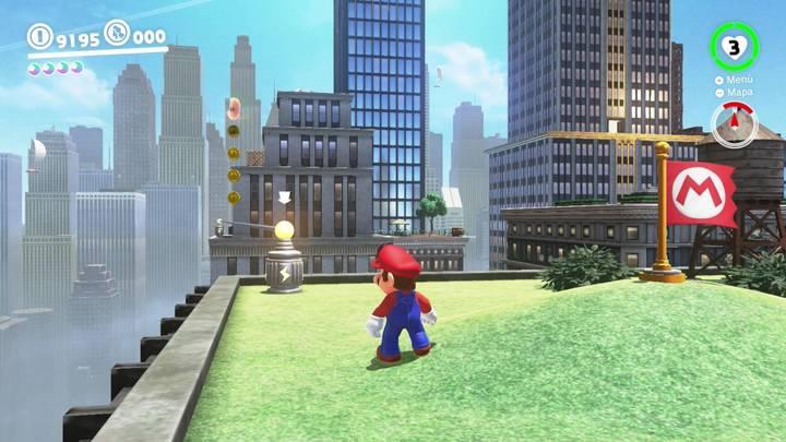 Energiluna 68 Reino Urbano Super Mario Odyssey
