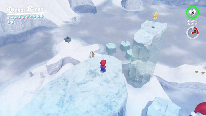 Energiluna 43 Reino del Hielo Super Mario Odyssey