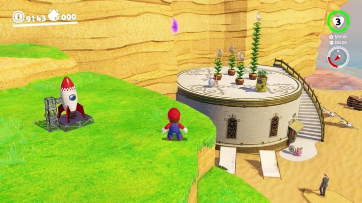 Energiluna 53 Reino Ribereño Super Mario Odyssey
