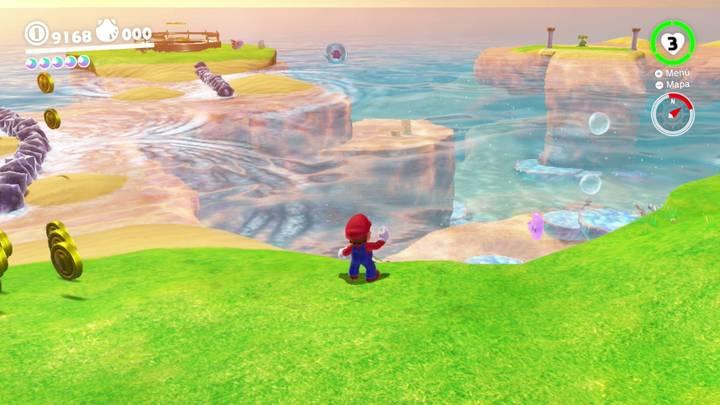 Energiluna 61 Reino Ribereño Super Mario Odyssey