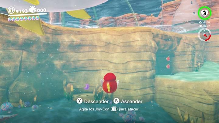 Energiluna 56 Reino Ribereño Super Mario Odyssey