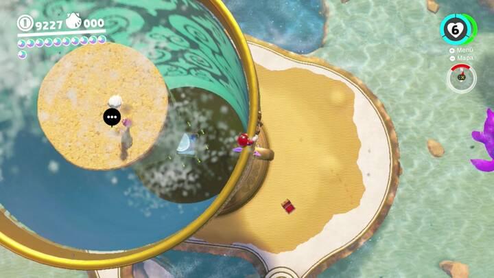 Energilunas 54 y 55 Reino Ribereño Super Mario Odyssey