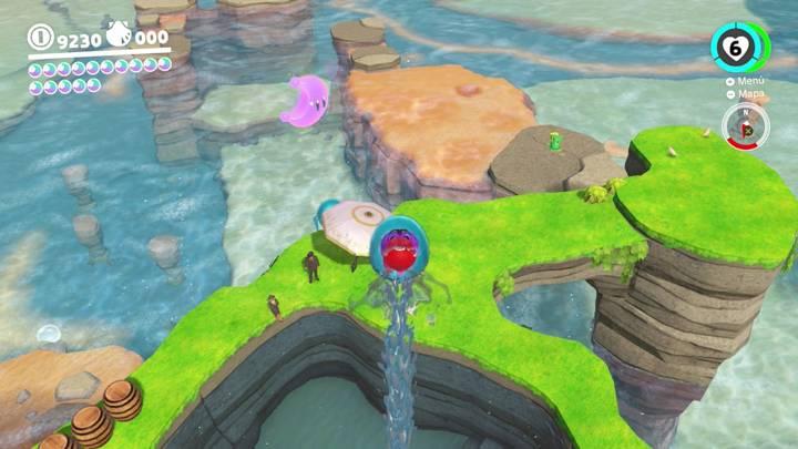 Energiluna 58 Reino Ribereño Super Mario Odyssey