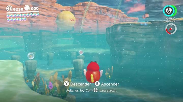Energiluna 57 Reino Ribereño Super Mario Odyssey