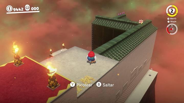 Reino de Bowser Super Mario Odyssey - Monedas moradas 5-8
