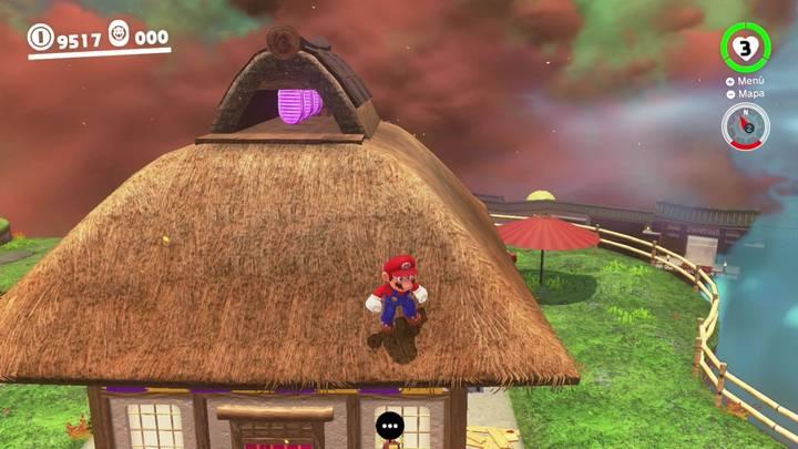Reino de Bowser Super Mario Odyssey - Monedas moradas 40-42