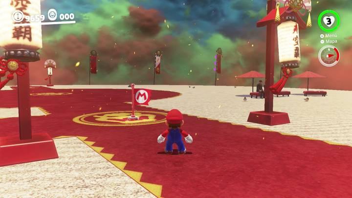 Reino de Bowser Super Mario Odyssey - Monedas moradas 97-100