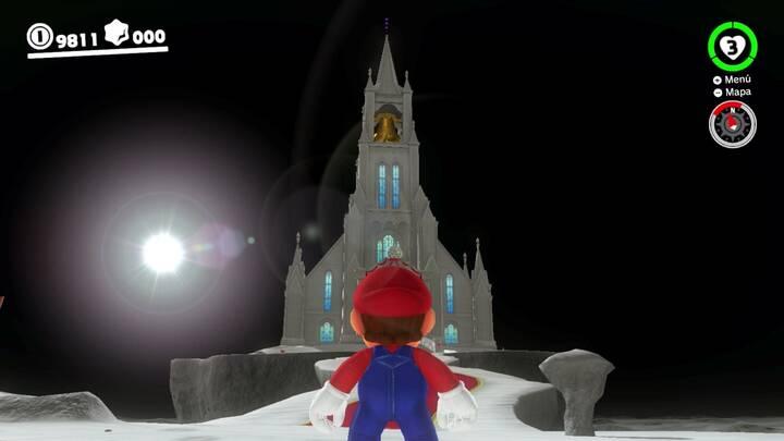 Iglesia - Reino Luna - Super Mario Odyssey