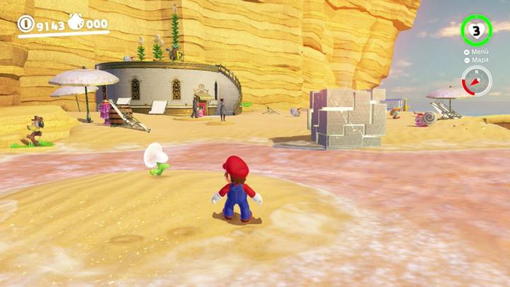 Roca Lunar del Reino Ribereño - Super Mario Odyssey