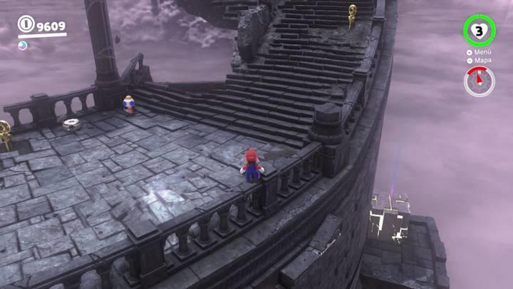 Roca Lunar del Reino en Ruinas - Super Mario Odyssey