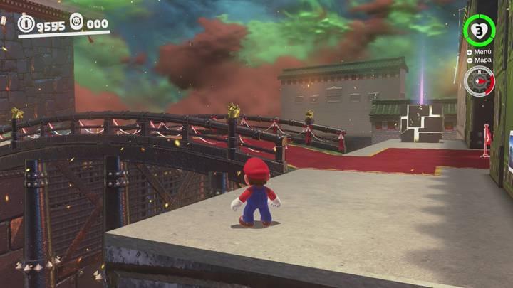 Roca Lunar del Reino de Bowser - Super Mario Odyssey
