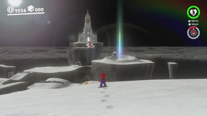 Roca Lunar del Reino Luna - Super Mario Odyssey