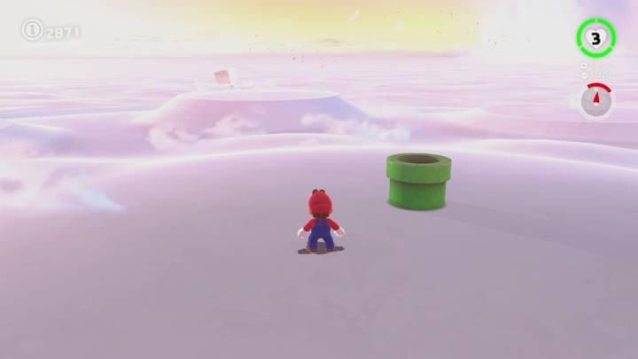 Roca Lunar del Reino Cúmulo - Super Mario Odyssey