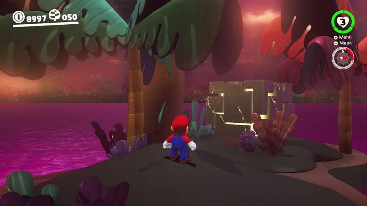Roca Lunar del Reino Perdido - Super Mario Odyssey