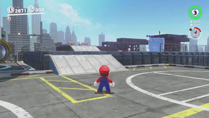 Roca Lunar del Reino Urbano - Super Mario Odyssey