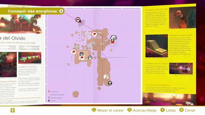 Rocas lunares en Super Mario Odyssey