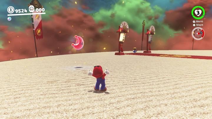Energiluna 42 Reino de Bowser Super Mario Odyssey