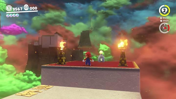 Energiluna 56 Reino de Bowser Super Mario Odyssey