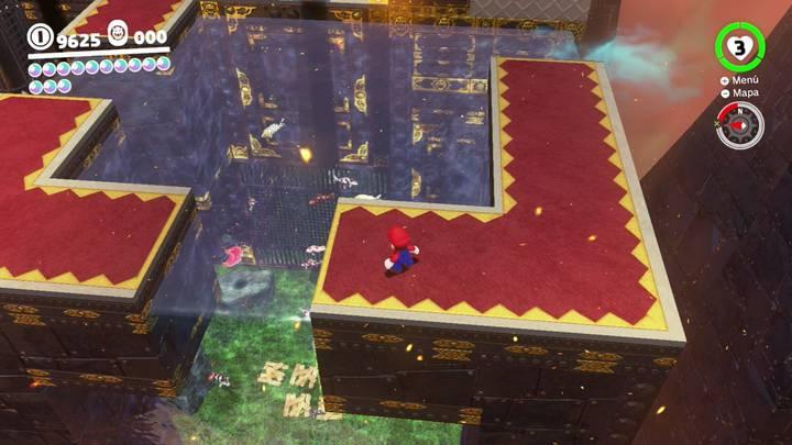 Energiluna 47 Reino de Bowser Super Mario Odyssey