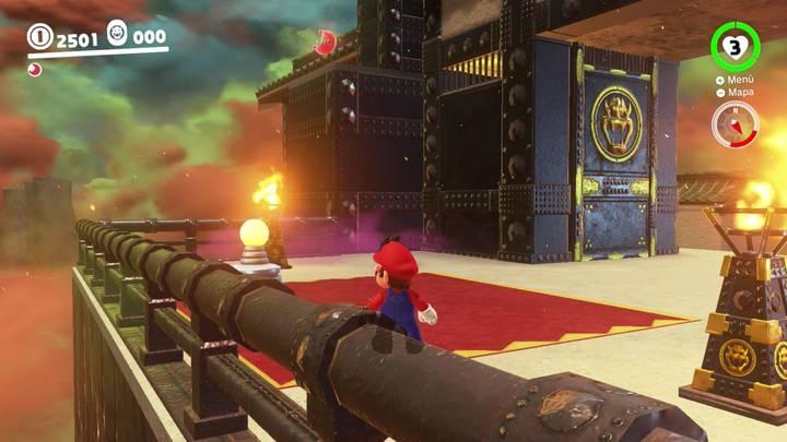 Energiluna 7  Reino de Bowser Super Mario Odyssey