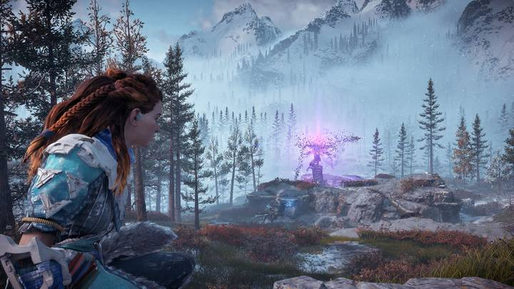 Horizon Zero Dawn The Frozen Wilds - Torre de control