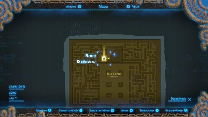 Donde está el teletransportador Zelda Breath of the Wild