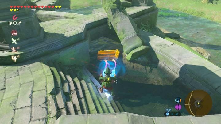 Localización Armadura de espectro Zelda Breath of the Wild