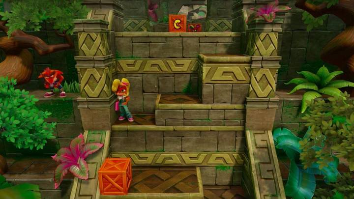 Fake Crash en Crash Bandicoot 1 N. Sanity Beach