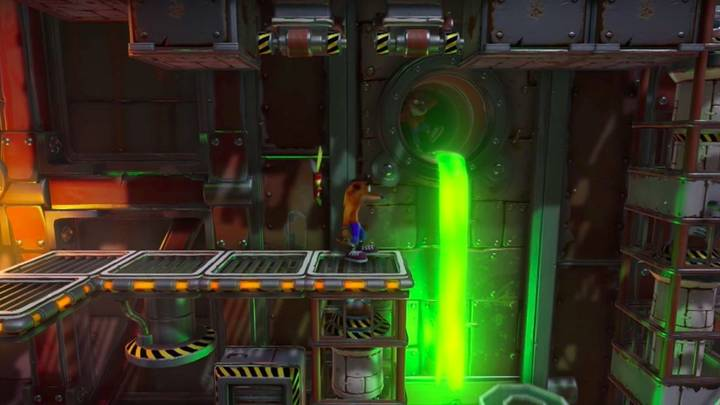 Fake Crash en Crash Bandicoot 1 Heavy Machinery
