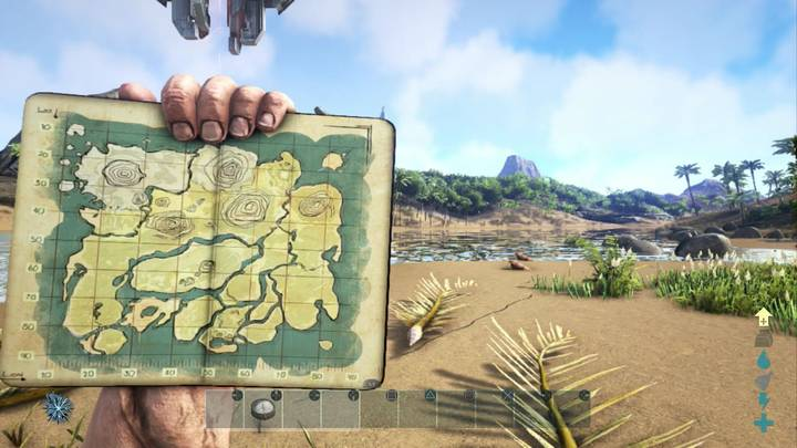 Mapa The Island ARK Survival Evolved