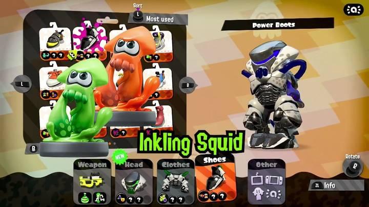 Inkling calamar