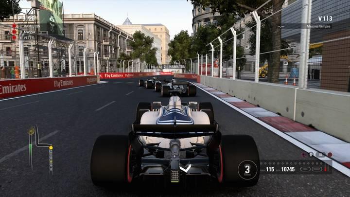 Estilo de pilotaje F1 2017