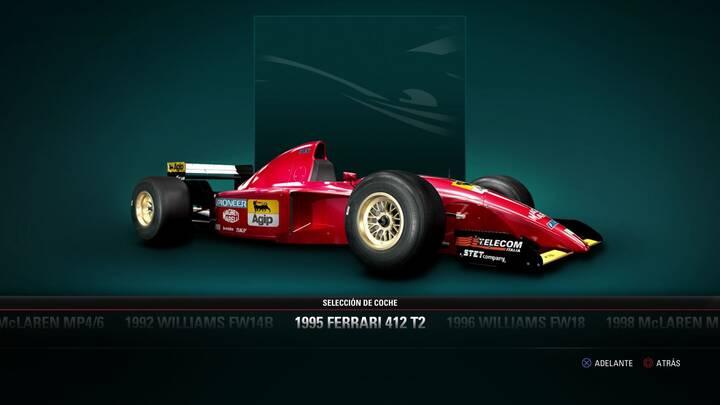 F1 2017 Ferrari 412 T2 de 1995