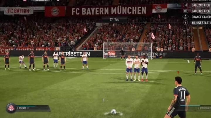 Tirar faltas FIFA 18