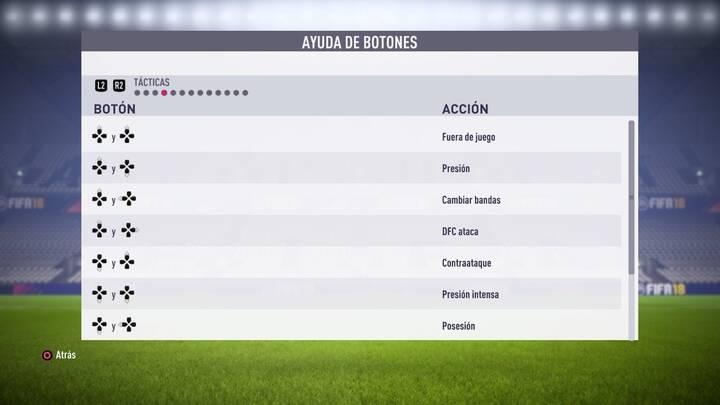 Tácticas FIFA 18