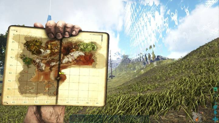 Mapa Ragnarok ARK Survival Evolved