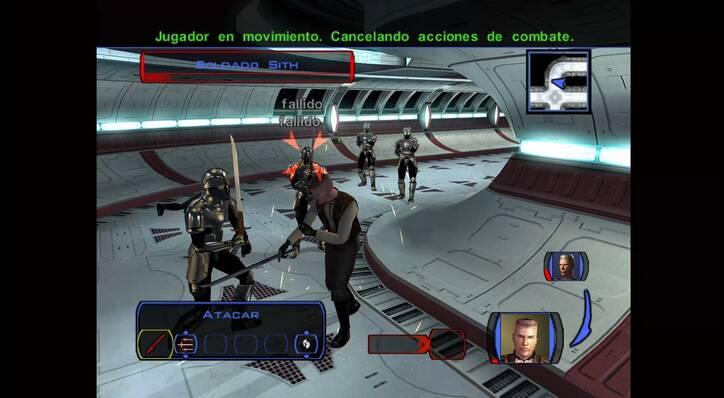KOTOR en Xbox ONe X