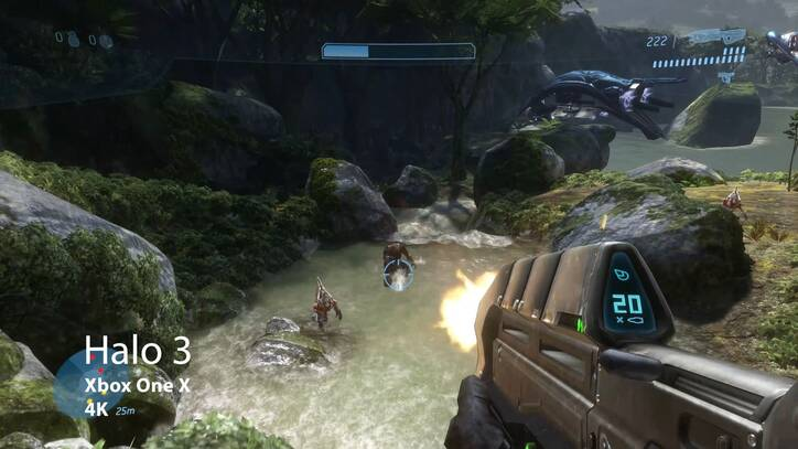 Halo 3 de Xbox 360 en Xbox One X