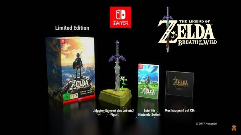 Anunciada Una Edicion Limitada De The Legend Of Zelda Breath Of The