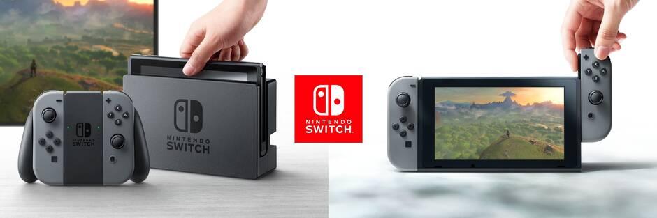 Nintendo Switch y diferentes modos