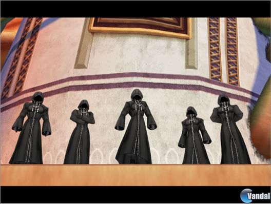 E3: Nuevas imágenes de Kingdom Hearts 2
