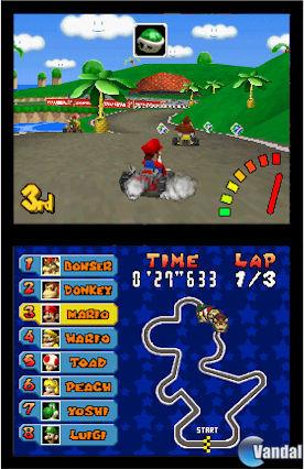 E3: Imágenes de Mario Kart DS