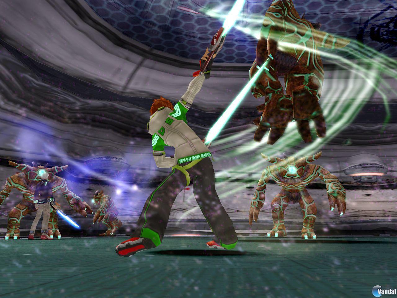 E3: Phantasy Star Universe, para PlayStation 2