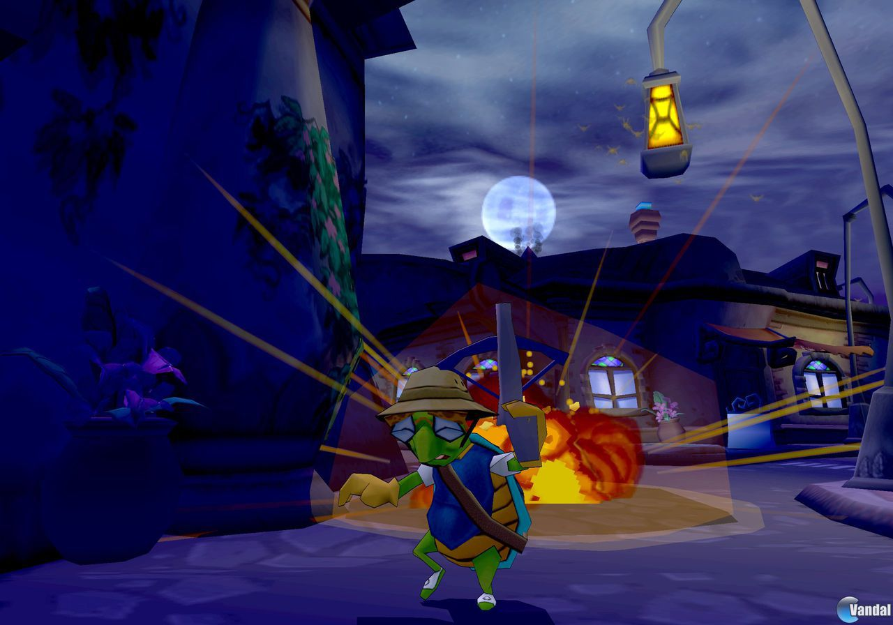 E3: Imágenes de Sly Cooper 2: Band of Thieves