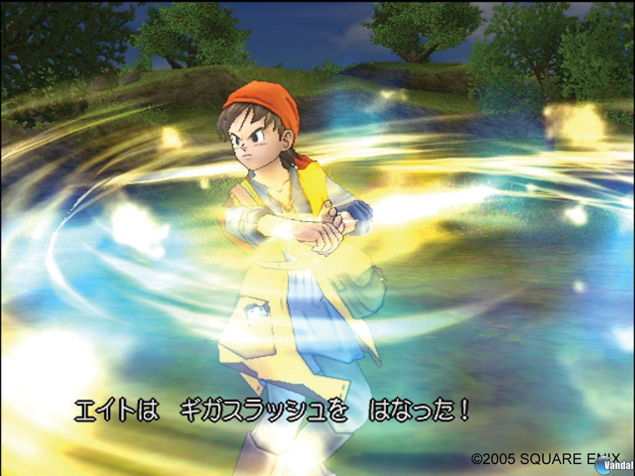 E3: Imágenes de Dragon Quest VIII: Journey of the Cursed King